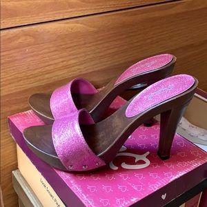Qupid Pink pumps